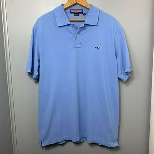 Vineyard Vines Light Blue Polo Shirt